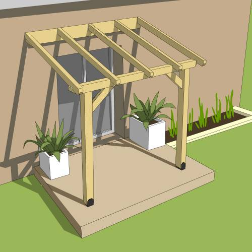 30th Birthday Ideas For Men Husband furthermore Patio Deck Roofing Wood also Rooftop Pergolas A Creative Bar Ideas besides Alumawood Newport Patio Cover Gallery additionally prar alpendre Em Madeira 3 X 2 M M674 PO. on attached pergola plans